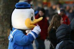 Pato de Donald/perfil imagens de stock royalty free