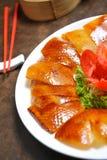 Pato de Peking Imagens de Stock
