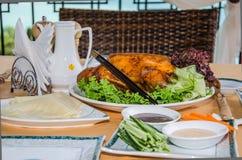 Pato de Peking Foto de Stock