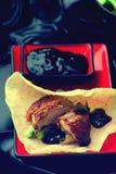 Pato de Peking Fotografia de Stock