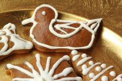 Pato del pan de jengibre Fotografía de archivo libre de regalías