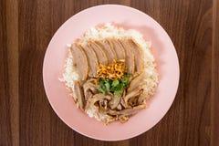 Pato do arroz Fotografia de Stock Royalty Free