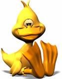 Pato en amor stock de ilustración