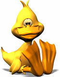 Pato no amor Imagem de Stock
