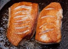 Pato que cocina la carne asada del pecho Imagen de archivo libre de regalías