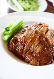 Pato Roasted, culinária chinesa Imagem de Stock Royalty Free