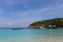 Patoka zatoka, raya wyspa Fotografia Stock