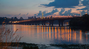 The Paton Bridge Stock Image