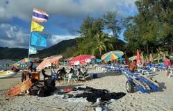 Patong, Ταϊλάνδη: Παραλία Patong Στοκ φωτογραφία με δικαίωμα ελεύθερης χρήσης