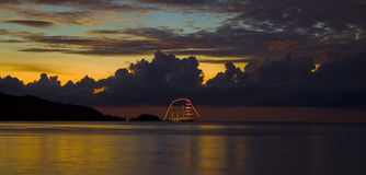 patong ночи залива Стоковые Фото
