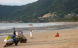 Patong海滩 免版税库存图片
