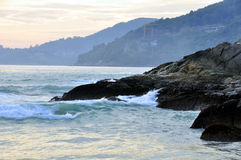Patong Beach coastline Stock Image