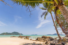 Patong beach in phuket island Thailand Royalty Free Stock Image