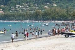 Patong beach, Phuket, Thailand Royalty Free Stock Photos