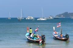 Patong beach, Phuket, Thailand Stock Photography