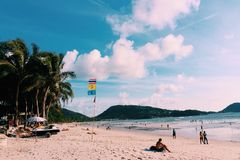 Patong beach, Phuket, Thailand 01 Royalty Free Stock Photo