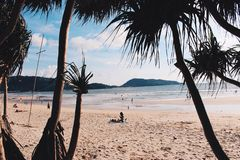 Patong beach, Phuket, Thailand 03 Royalty Free Stock Image