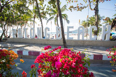 Patong Beach welcome sign Stock Images