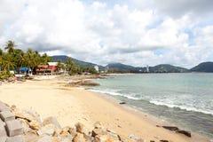 Patong - 25 de abril: Praia de Kalim 25 de abril de 2012 em Patong, Thaila Imagens de Stock