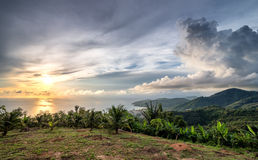 Patong hill View from South Royalty Free Stock Image
