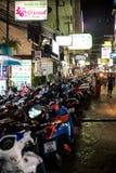 Patong night street in phuket, Thailand 2017 Royalty Free Stock Photography