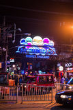 Patong night street in phuket, Thailand 2017 Stock Image
