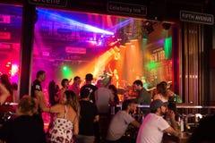 Patong night street in phuket, Thailand 2017 Royalty Free Stock Image