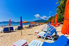 Patong-Paradiesstrand Phuket, Thailand Lizenzfreies Stockbild