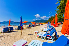 Patong paradise beach phuket ,Thailand Royalty Free Stock Image