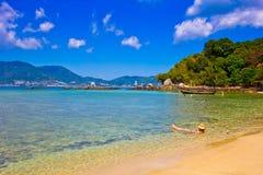 Patong paradise beach phuket ,Thailand Stock Photography