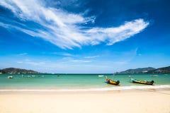 Patong plaża Fotografia Royalty Free