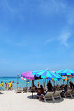 Patong strand i Phuket Thailand Arkivbilder