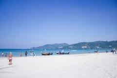 Patong strand på Phuket Thailand Arkivfoto