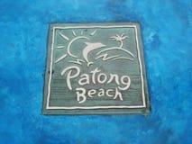 Patong Strand, Phuket, Thailand Stockbilder