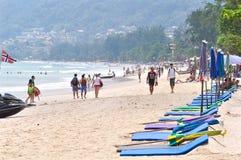 Patong Strand, Phuket, Thailand Lizenzfreies Stockfoto