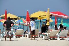 Patong, Tailândia: Praia calma de Patong Fotos de Stock