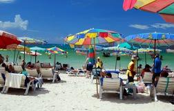 Patong, Tailândia: Praia de Patong Imagem de Stock Royalty Free