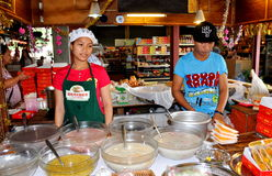 Patong, Thailand: Banzaan Fresh Market Vendors Stock Photos
