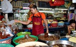 Patong, Thailand: Banzaan Fresh Market Vendors Royalty Free Stock Photo