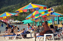 Patong, Thailand: Patong Beach Scene Stock Photos