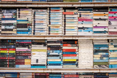 PATONG THAILAND- SEP 19 : Old book on the shelf for sale at the Royalty Free Stock Photography