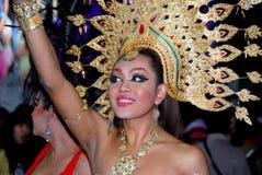 Patong, Thailand: Simon Cabaret Show Girl Stock Photo