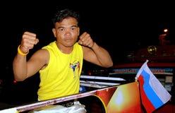 Patong, Thailand: Thai Boxer Royalty Free Stock Photography