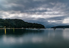 Patonga Beach at Daybreak. Taken at Patonga, Central Coast, NSW, Australia Royalty Free Stock Photography