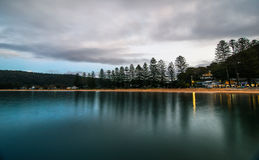 Patonga Beach at Daybreak. Taken at Patonga, Central Coast, NSW, Australia Stock Image