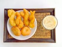 Patongko с тофу Стоковая Фотография