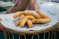 Patongko, bastone fritto in grasso bollente della pasta Immagine Stock Libera da Diritti