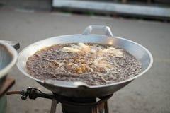 Patongko, bastone fritto in grasso bollente della pasta Fotografia Stock
