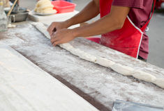 Patongko friterad degpinne, kinesisk brödpinne Royaltyfri Foto