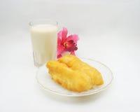 Patonko с soymilk Стоковые Фотографии RF